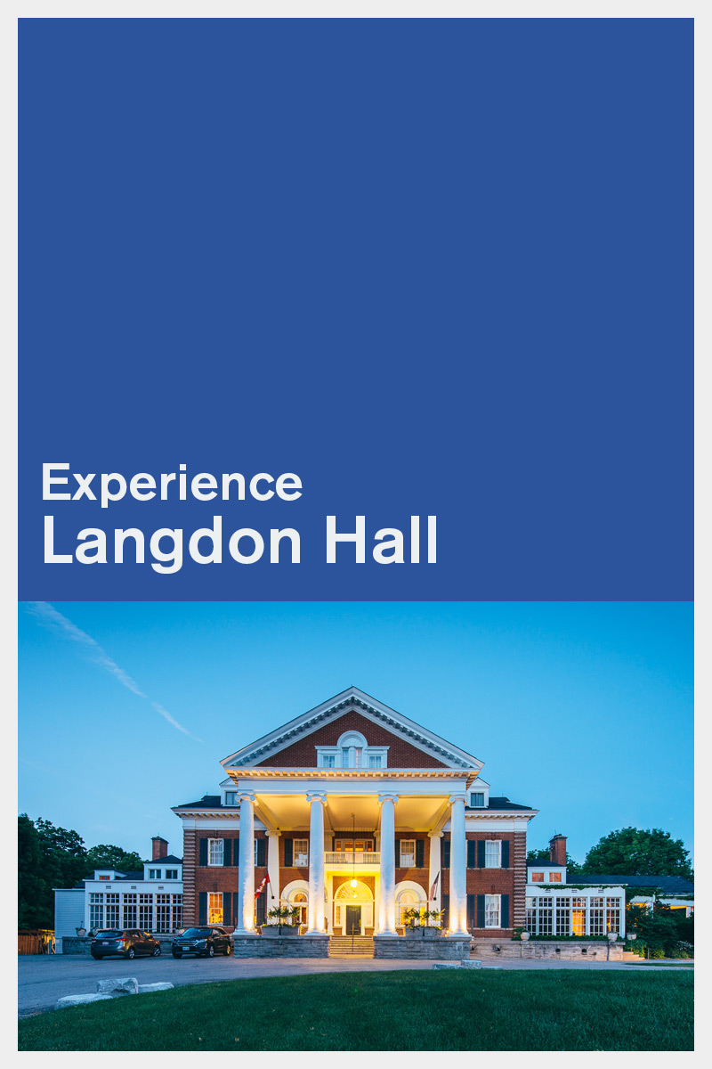 Experience Langdon Hall