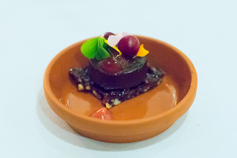 Langdon Hall dark chocolate.