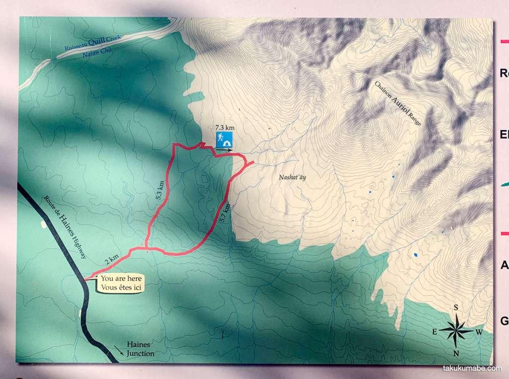 Auriol Trail map