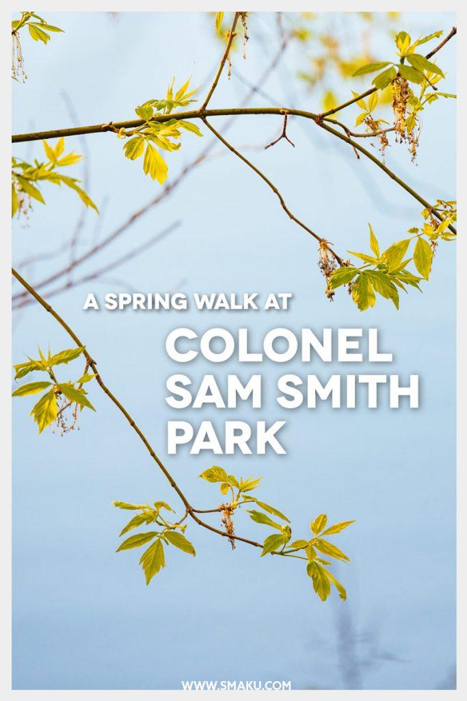 A Spring Walk At Colonel Sam Smith Park